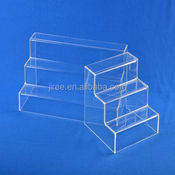 Clear Acrylic Counter Top One Tier makeup/Cosmetic Display Stand