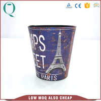 Practical PU Leather Cardboard Decorative Trash Can