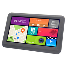 "7"" android car gps multimedia system with AV-IN for Wireless Camera"