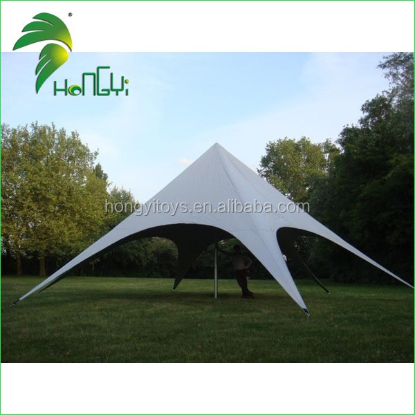 Most Popular Star Shape Tent , Cheap Customized White Star Shape Tent For Sale