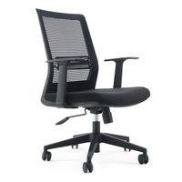 Unique design best ergonomic office chair with mesh back and fabric seat