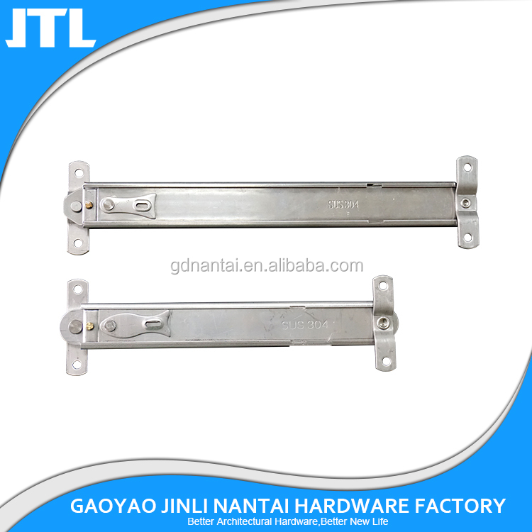 UPVC Friction Hinge Window Stay Top Side Hung Aluminium Timber