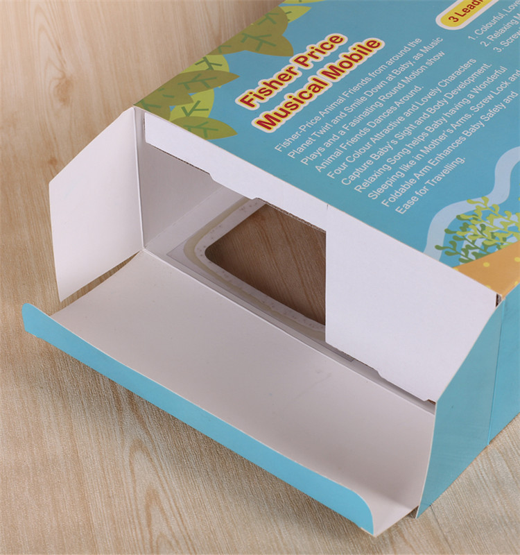 2017 food packaging boxes cardboard window