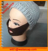 winter crochet hat acrylic knitted custom beanie