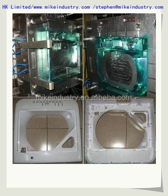 part of washing machine high precision injection plastic mould