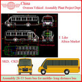 Bus Auto Parts And Production Lines For Sale