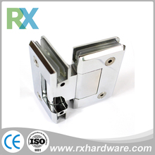 Right angle glass door hinge supplier