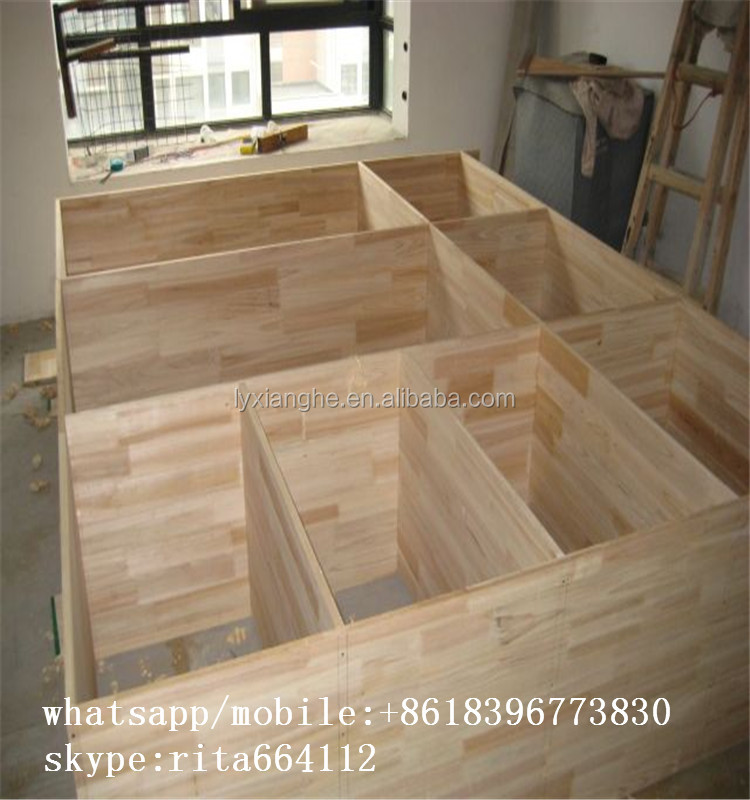 acacia/teak/oak/ pine finger joint board for solid furniture