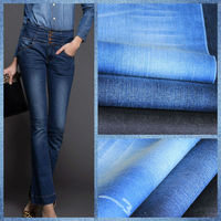 denim fabric for cropped denim Jegging Fabric with Comfort Stretch