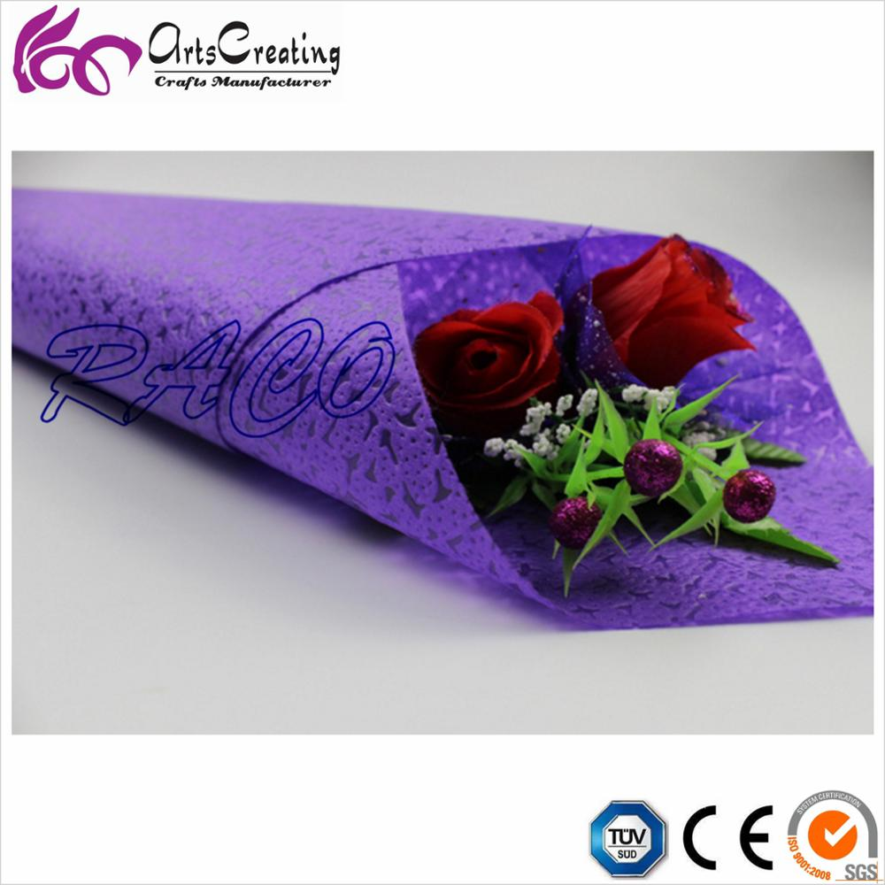 waterproof Panton color non woven flower wrapping paper