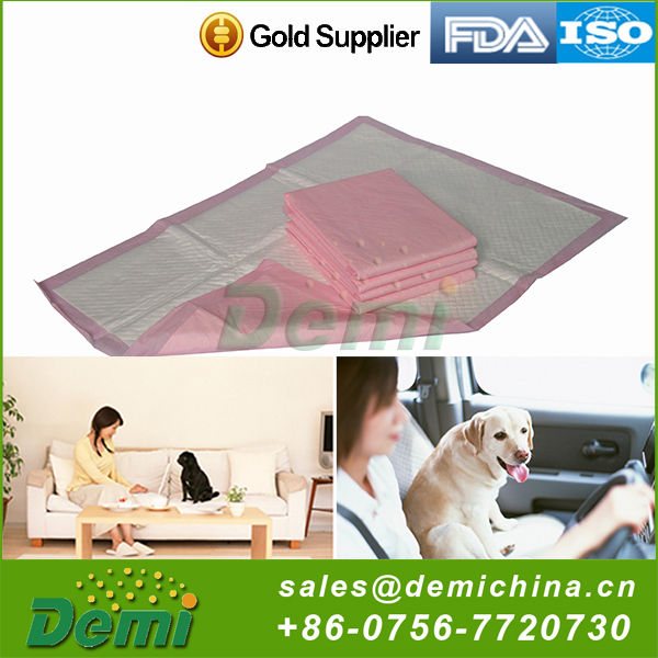 Hot selling cheap custom waterproof dog pee pads