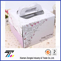 Professional kraft cake box for wholesales