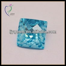 Blue cz rough gems hot sell industrial diamond