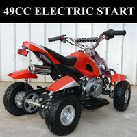 49CC 50CC Electric start Mini Quad Kids ATV