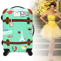 ABS PC luggage, luggage bag