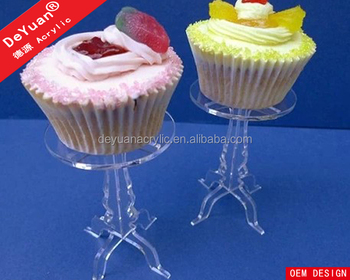 DIY Cupcake Stand Clear Acrylic Material