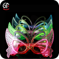 Hot New Products Flashionable Led Light Up Christmas Glasses For Funny