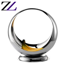 Catering serving <strong>plates</strong> for restaurants modern decorative mirror luxury stainless steel round appetizer dish <strong>plates</strong> party buffet