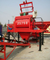 Low Cost Concrete Mixer JS750 Main product electric concrete mixer machine