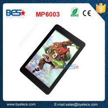 Full function 6 inch 3g call dual core tablet pc java games touch screen download