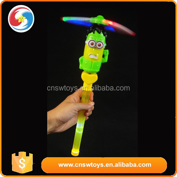 Windmill Handheld Fan Spinning Wand Pinwheel Wind Rave Toy Party