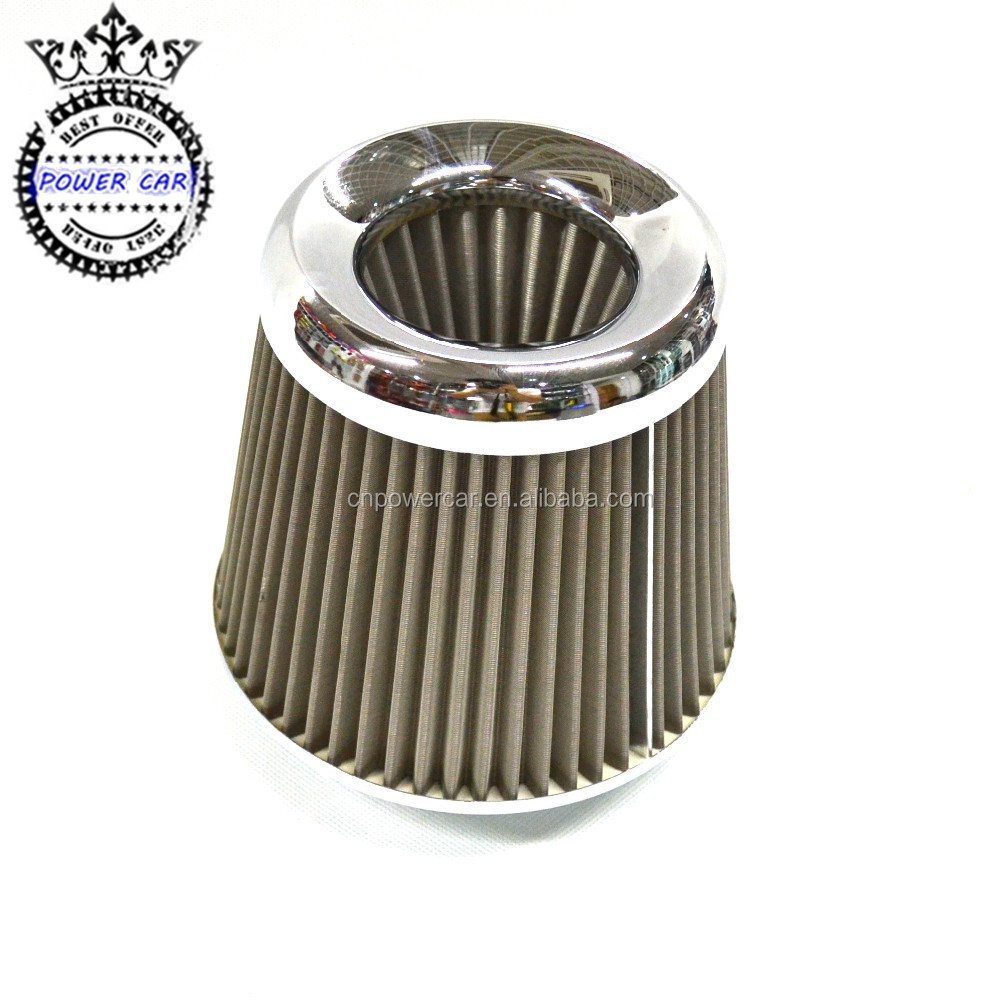 Stainless Steel Racing Air Intake Filter For Universal