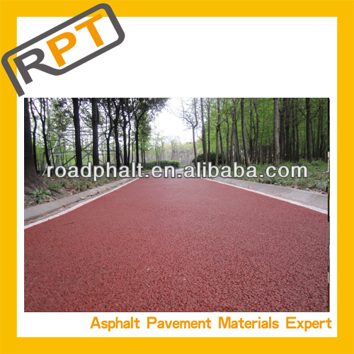 Roadphalt color green bitumen 60/70