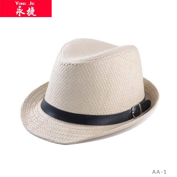 china wholesale high quality cowboy hats men cheap fedora hats