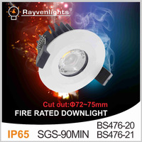 High performance Chip 2.5 inch 10w Waterproof Recessed Lights 75mm Cutout