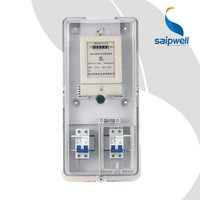 SAIP/SAIPWELL One-Phase Cable Making Equipment Abs Plastic electric meter box key