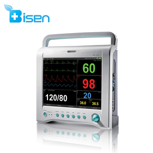 BS-PM900 CE approved ICU Multi-parameter patient Monitor for hospital operation room