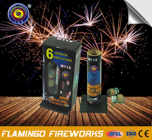"100% product quality protection Mortero Display Shell Colores 1.5"" 1.2 inch artillery shell fireworks"