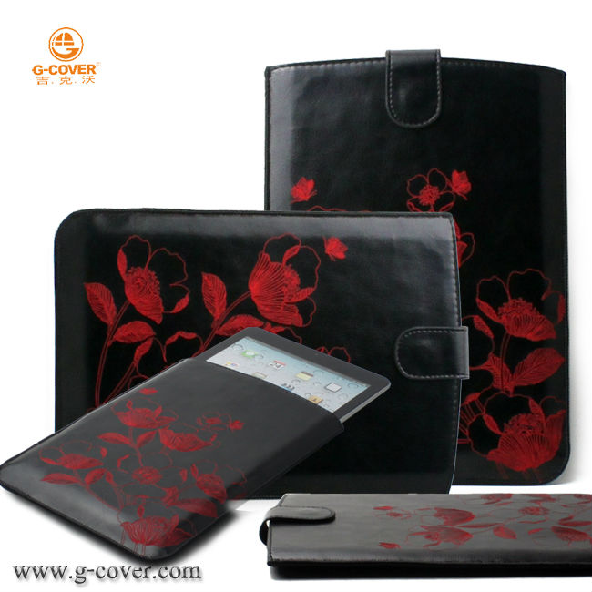 new design leathe case for Mini ipad