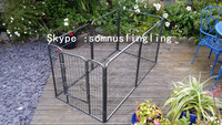 Pet Dog Playpen Puppy Exercise Fence Kennel Run Enclosure Cage 8 Panel 80x80cm