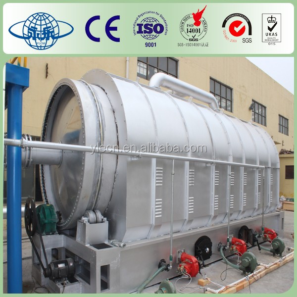 Yongle Huayin tyre pyrolysis plant in Pakistan