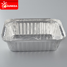 Disposable Aluminum Foil Takeout Pan Containers with Lid