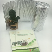 Double pure Aluminum Foil sided bubble heat Insulation materials of Star
