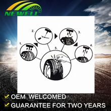 Oem Factory 7pcs Diy Car Repair Tool Type Portable Tire Inflating Kit