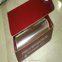 Hot sale hair salon foil roll with dispenser