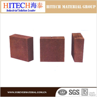 qualified manufacturer zibo hitech direct bonded magnesia chrome chrome magnesite refractory bricks for lime kiln