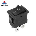 Hot selling KCD1 4pin On-Off Black Cover 12V DC Rocker Switch