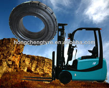 28*9-15 OTR rubber forklift solid tire with high quality