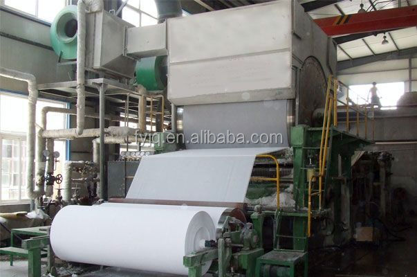 Single Cylinder Single Wire Toilet Paper Making Machine to Make Medium/high Tissue Paper Toilet Paper