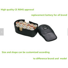 Manufacturer eco-friendly rechargeable sc non ni-cd ni-mh battery 18v 3000mah for cordless drill with temperature control