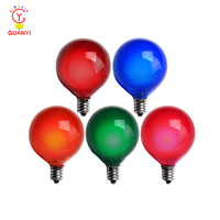 G50 Satin Multicolor Replacement Incandescent Lamp Glass LED Bulbs