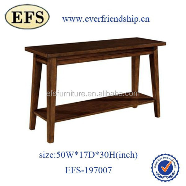 Latest high quality living room furniture cheap antique solid wooden coffee table