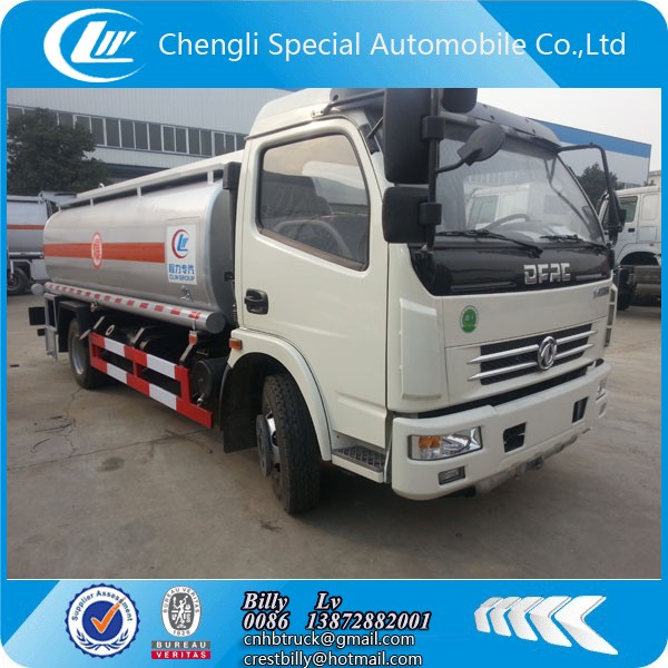 dongfeng dlk 1840 Us gallon mobile fuel tanker truck for sale