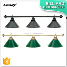 CONDY Billiard lamp 3 metal shades of billiard pool table lights