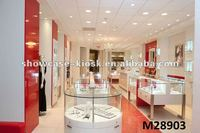 Modern Style Interior Indian Jewellery Showroom Designs