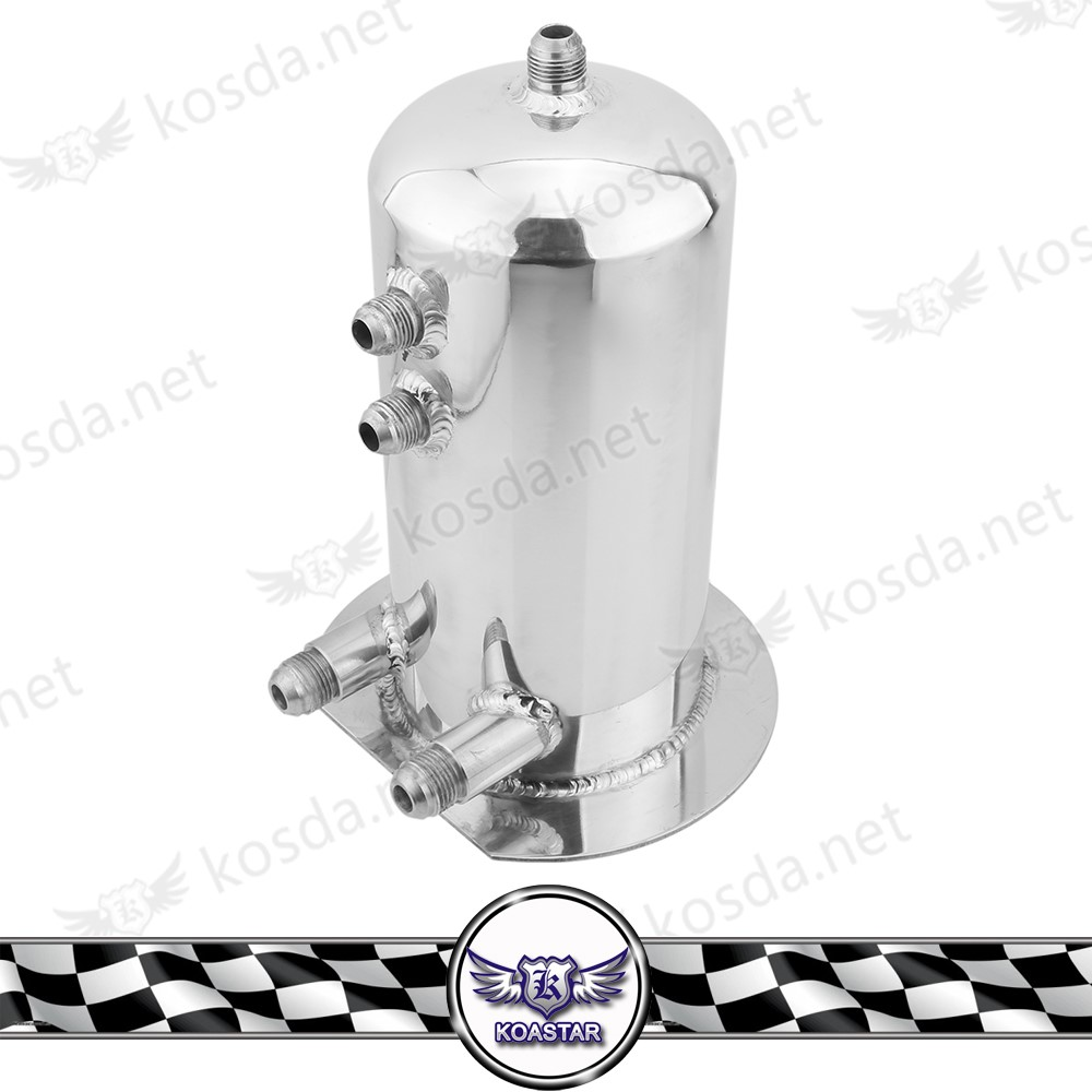 2.5 L Universal Breather Fuel SurgeTank for DUAL EXTERNAL FUEL PUMPS